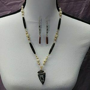 Jewelry - Custom Necklace & Earring Set